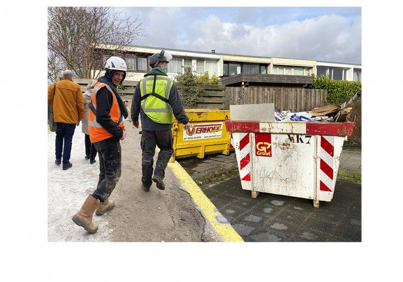 Aanpak overlast bouwcontainers